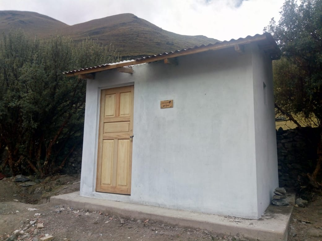 First Project's Latrine
